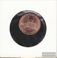 U.S. Km-number. : 443 2009 D Stgl./unzirkuliert Zinc, Copper Plattiert Stgl./unzirkuliert 2009 1 Cent Lincoln - Advocate - 1959-…: Lincoln, Memorial Reverse