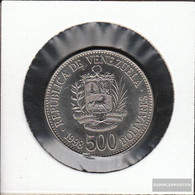 Venezuela Km-number. : 79 1998 Extremely Fine Steel, Nickel Plattiert Extremely Fine 1998 500 Bolivares Crest - Venezuela