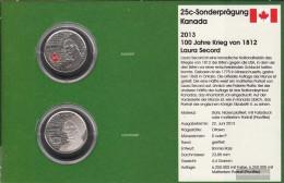 Canada Km-number. : New  2013 Stgl./unzirkuliert Steel, Nickel Plattiert Koloriet And Unkoloriert Stgl./unzirkuliert 201 - Canada