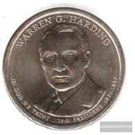 U.S. Km-number. : 571 2014 D Stgl./unzirkuliert Copper, Nickel-Me Plattiert Stgl./unzirkuliert 2014 1 US Dollars Warren - Federal Issues