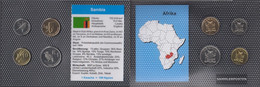 Sambia 2012 Stgl./unzirkuliert Kursmünzen Stgl./unzirkuliert 2012 5 Ngwee Until 1 Kwacha - Zambia