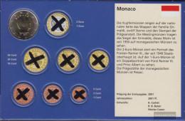 Monaco MON 9 2017 Stgl./unzirkuliert Stgl./unzirkuliert 2017 Kursmünze 2 Euro - Monaco