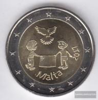 Malta 2017 Stgl./unzirkuliert Reprint: 380.000 Stgl./unzirkuliert 2017 2 Euro Solidarity And Peace - Malta