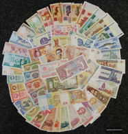 All World 50 Different Bankfrische Banknotes Uncirculated - Banknotes