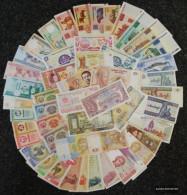 All World 50 Different Bankfrische Banknotes Uncirculated - Bankbiljetten