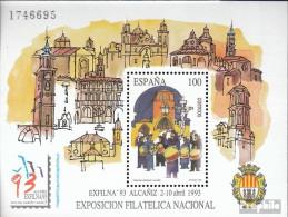 Spanien Block53 (kompl.Ausg.) Postfrisch 1993 Briefmarkenausstellung - Blocs & Hojas