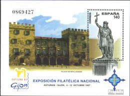 Spanien Block71 (kompl.Ausg.) Postfrisch 1997 Briefmarkenausstellung - Blocs & Hojas