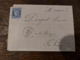 31.01.18_LAC  De Lure Pour Longine A Voir!! - Marcophilie (Lettres)