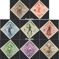 Dominikanische Republik 585A-592A (kompl.Ausg.) Postfrisch 1957 Olympische Sommerspiele - Dominikanische Rep.