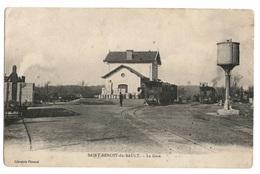 36 INDRE - SAINT BENOIT DU SAULT La Gare (voir Descriptif) - Autres Communes