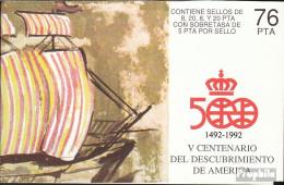 Spanien MH8 (kompl.Ausg.) Postfrisch 1990 Entdeckung Amerikas - Spanien
