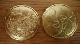 Medaille France La Rhune Petit Train Pays Basque Que Prix + Port Montagne Paypal Skrill Bitcoin OK - Other