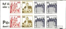 Berlin (West) MH10bb (kompl.Ausg.) Postfrisch 1977 Burgen Und Schlösser - Berlin (West)