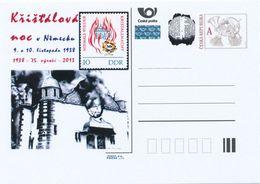 Tchéquie / Cartes Post. (Pre2013/53) Nuit De Cristal (Reichskristallnacht) 1938 - Allemagne - Kirchen U. Kathedralen