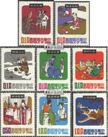 China-Taiwan 781-788 (kompl.Ausg.) Postfrisch 1970 Chinesische Volkssagen - 1945-... Republik China