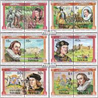 Tuvalu-Vaitupu 9-20 Paare (kompl.Ausg.) Postfrisch 1984 Englische Monarchen - Tuvalu