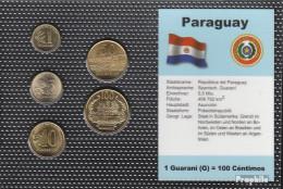 Paraguay Stgl./unzirkuliert Kursmünzen Stgl./unzirkuliert 1990-1998 1 Guarani Bis 100 Guarani - Paraguay