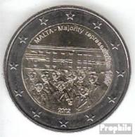 Malta 2012 Stgl./unzirkuliert Stgl./unzirkuliert 2012 2 EURO Mehrheitswahlrecht - Malta