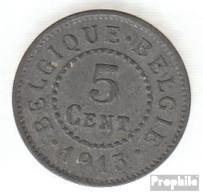 Belgien KM-Nr. : 80 1916 Sehr Schön Zink Sehr Schön 1916 5 Centimes Deutsche Besetzung I. We - 03. 5 Centimes