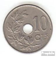 Belgien KM-Nr. : 52 1905 Sehr Schön Kupfer-Nickel Sehr Schön 1905 10 Centimes Gekröntes Monogramm - 1865-1909: Leopold II