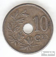 Belgien KM-Nr. : 53 1904 Sehr Schön Kupfer-Nickel Sehr Schön 1904 10 Centimes Gekröntes Monogramm - 1865-1909: Leopold II