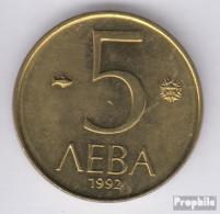 Bulgarien KM-Nr. : 204 1992 Vorzüglich Nickel-Messing Vorzüglich 1992 5 Leva Reiter - Bulgarien