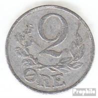 Dänemark KM-Nr. : 833 1941 Sehr Schön Aluminium Sehr Schön 1941 2 Öre Gekröntes Monogramm - Dänemark