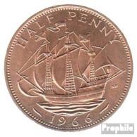 Großbritannien KM-Nr. : 896 1967 Stgl./unzirkuliert Bronze Stgl./unzirkuliert 1967 1/2 Penny Elizabeth II. - C. 1/2 Penny