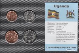 Uganda 1987 Stgl./unzirkuliert Kursmünzen Stgl./unzirkuliert 1987 1 Schilling Bis 10 Schilling - Ouganda