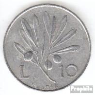 Italien KM-Nr. : 90 1950 Sehr Schön Aluminium Sehr Schön 1950 10 Lire Pegasus - 10 Lire
