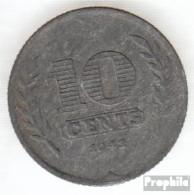 Niederlande KM-Nr. : 173 1941 Sehr Schön Zink Sehr Schön 1941 10 Cents Tulpen - [ 3] 1815-…: Königreich Der Niederlande