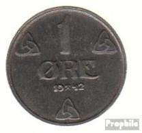 Norwegen KM-Nr. : 387 1942 Sehr Schön Eisen Sehr Schön 1942 1 Öre Wappen - Norwegen