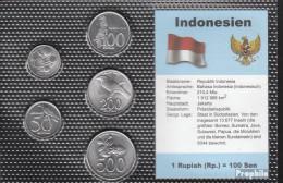 Indonesien Stgl./unzirkuliert Kursmünzen Stgl./unzirkuliert 1994-2003 25 Rupiah Bis 500 Rupiah - Indonesien