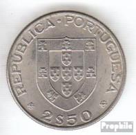 Portugal KM-Nr. : 605 1977 Vorzüglich Kupfer-Nickel Vorzüglich 1977 2-1/2 Escudos Herculano - Portugal