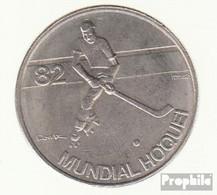 Portugal KM-Nr. : 615 1983 Vorzüglich Kupfer-Nickel Vorzüglich 1983 5 Escudos Hockey - Portugal