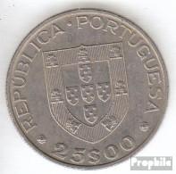Portugal KM-Nr. : 635 1986 Vorzüglich Kupfer-Nickel Vorzüglich 1986 25 Escudos EU - Portugal
