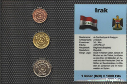 Irak 2004 Stgl./unzirkuliert Kursmünzen Stgl./unzirkuliert 2004 25 Dinar Bis 100 Dinar - Irak