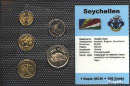 Seychellen Stgl./unzirkuliert Kursmünzen Stgl./unzirkuliert 1997-2004 1 Cent Bis 1 Rupee - Seychellen