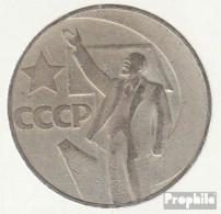 Sowjetunion KM-Nr. : 140 1967 Sehr Schön Kupfer-Nickel-Zink Sehr Schön 1967 1 Rubel Revolution - Rusia