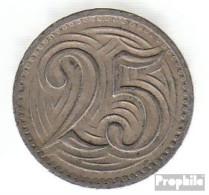 Tschechoslowakei KM-Nr. : 16 1933 Vorzüglich Kupfer-Nickel Vorzüglich 1933 25 Haleru Löwe - Tschechoslowakei
