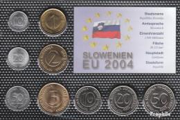 Slowenien Stgl./unzirkuliert Kursmünzen Stgl./unzirkuliert 1992-2004 10 Stotin Bis 50 Tolar - Slowenien