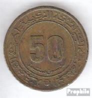 Algerien KM-Nr. : 109 1975 Sehr Schön Aluminium-Bronze Sehr Schön 1975 50 Centimes Jahrestag - Algerien