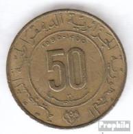 Algerien KM-Nr. : 111 1980 Sehr Schön Aluminium-Bronze Sehr Schön 1980 50 Centimes 1400 Jahre Mohammedfluc - Algerien