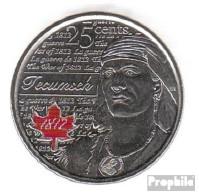 Kanada KM-Nr. : 1324a 2012 Stgl./unzirkuliert Stahl, Coloriert Stgl./unzirkuliert 2012 25 Cents Farbmünze Elizabeth II. - Canada