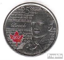 Kanada KM-Nr. : 1322a 2012 Stgl./unzirkuliert Stahl, Coloriert Stgl./unzirkuliert 2012 25 Cents Farbmünze Elizabeth II. - Canada