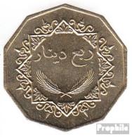 Libyen KM-Nr. : 26 1369 Vorzüglich Nickel-Messing Vorzüglich 1369 1/4 Dinar Reiter - Libye