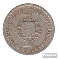 Mosambik KM-Nr. : 78 1954 Sehr Schön Kupfer-Nickel Sehr Schön 1954 2 1/2 Escudos Wappen - Mozambique