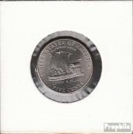 USA KM-Nr. : 361 2004 D Stgl./unzirkuliert Kupfer-Nickel Stgl./unzirkuliert 2004 5 Cents Lewis Und Clark Auf Einem K - Federal Issues