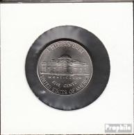 USA KM-Nr. : 381 2006 D Stgl./unzirkuliert Kupfer-Nickel Stgl./unzirkuliert 2006 5 Cents Landsitz Monticello - Federal Issues