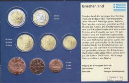 Griechenland GR1 - 3 Stgl./unzirkuliert Gemischte Jahrgänge Stgl./unzirkuliert Ab 2002 Kursmünze 1, 2 Und 5 Cent - Greece